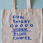 アンダー ブラフ コーヒー - ノベルティのトートバッグ