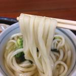 麺処 綿谷 - かけうどん  にょ〜ん( ´ ▽ ` )ノ