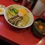Kadoyashokudou - 冷し中華&スタミナ黒豚めし