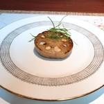 南蛮 銀圓亭 - レンコンのファルシ。こういうもので昼酒を使う愉しさたるや!