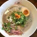 麺匠 さくら咲く - 鶏白湯ラーメン850円
