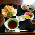 古に志 - 天ぷら定食