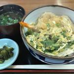 力餅食堂 - 天なん丼 玉子とじ   630円  変わらず(^O^)