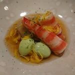 すし宮川  - 料理写真:翡翠銀杏、里芋、車海老