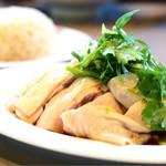 威南記海南鶏飯 - チキンライス(スチーム)@1,300円+税