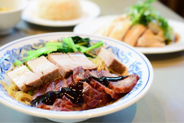 威南記海南鶏飯 日本本店の料理の写真