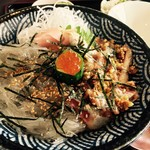 しらす亭 - イワシと生しらすの親子丼