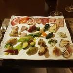 ロッシ - 料理写真:前菜