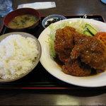7245778 - チキンカツ定食700円