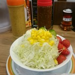 金沢ロイヤルカレー絆 - 野菜サラダ