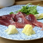 家庭料理 小川 - 鰹の造り