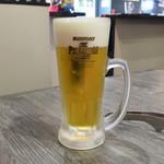 鳥取和牛 因幡の国守 - 生ビール