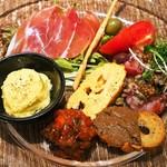 トラットリア・アルモ - 前菜盛り合わせ