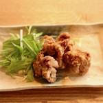 オーガニックカフェ・ラムノ - 大豆ミートの唐揚げ