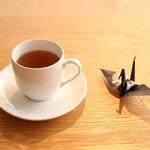 オーガニックカフェ・ラムノ - 黒豆茶