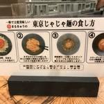 東京じゃじゃ麺 まるきゅう -