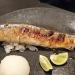 食処 でらいと - 新秋刀魚の塩焼き