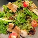 食処 でらいと - 炙り鰯と夏野菜