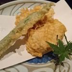 魚料理 ぎん - 蓮根のはさみ揚げ