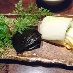 魚料理 ぎん - 漬物盛り