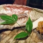 魚料理 ぎん - 太刀魚塩焼き