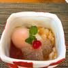 日本料理 花野江 - 料理写真:温泉玉子♨️とこんにゃく