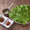 焼肉 バンバミート - 料理写真:サンチュセット