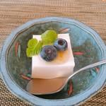 日本料理 花野江 - 牛乳寒