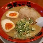 天下一品 - 【ラーメン(並) こってり + 煮玉子】¥720 + ¥120