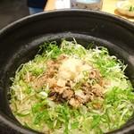 いしづか - 鮪のしぐれ煮土鍋ご飯