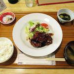 72456869 - 2017年9月2日 今日のランチ「黒酢鶏」