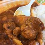 ソウルフードインディア - 柔らかい豚肉  (激辛グルメ祭り2017)