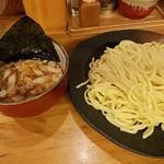 72458817 - つけ麺中盛 2017.8