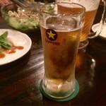じんりき厨房 - 生ビール
