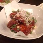 じんりき厨房 - 甘辛味の鳥唐