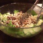 じんりき厨房 - キノコのサラダ