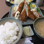函館とんき - お好みフライ定食880yen