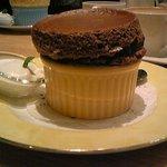 Cafe Raffine - チョコレートスフレ