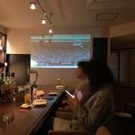 BAR 北田 - 側面で試合を見る
