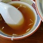 72462440 - 油そばにスープも付いてきます。
