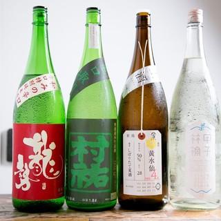 創作天ぷら料理に合う◎お酒のメニューも充実♪