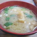 三洛 - 味噌汁