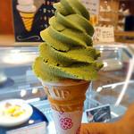 遊心 - ソフトクリーム(抹茶)