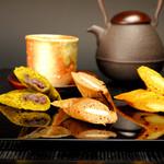 起き上り本舗 - 長良川 和菓子屋のスティックケーキ 抹茶・ちょこ・キャラメル