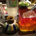 恩納つばき - 泡盛古酒5年(1合)1,200円 ※水割りセット