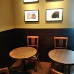 サンマルクカフェ - [内観] 店内 テーブル席 ④