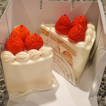 72466907 - 苺のショートケーキ・ルージュ&ブラン