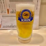 こん平 - 生ビール 550円