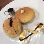 コーヒーショップ マル屋 - ホットケーキ