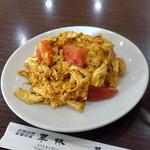 華林 - トマトと玉子の炒め630円